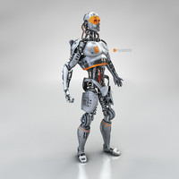 x male cyborg