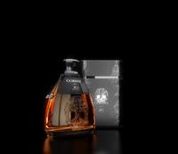 3dsmax premium whiskey bottle