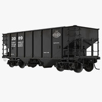 cinema4d hopper car