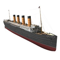 rms lusitania 3d model