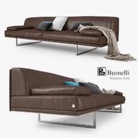 3d model busnelli blumun sofa
