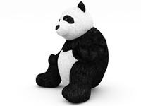 3d teddy bear model