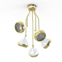 hanna suspension lamp 3d max