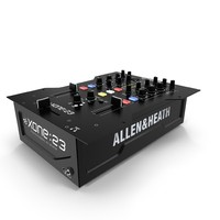 dj mixer allen heath 3d model