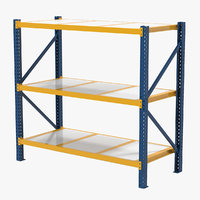 3d warehouse rack