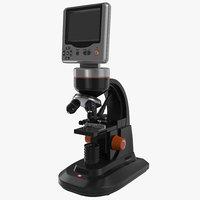 3d lcd digital microscope