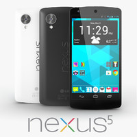 3d model google nexus 5