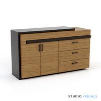3d herve sideboard model