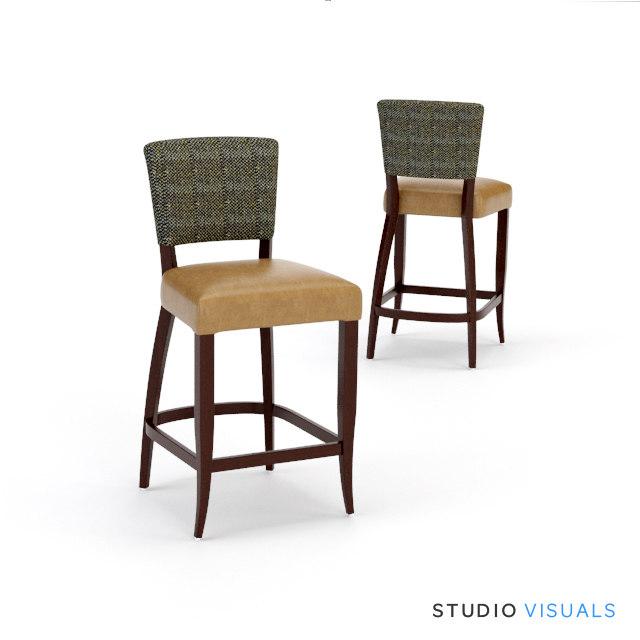 Chair SV Adele Fabric Stool Perspective.jpg