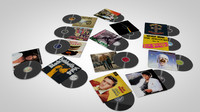 3d vinyl records covers model