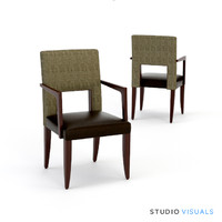 3d model esham dining chair