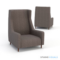 3d model chair 02