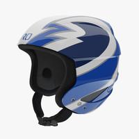 3ds max giro sestriere helmet blue