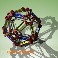 free assembly icosahedron himself! 3d model