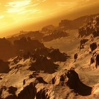 alien terrain terra 3d model