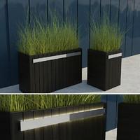 maya modern grass iii