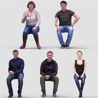 3d realistic humans
