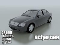 benefactor schafter 3d model