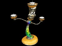 candle stand 3d ma
