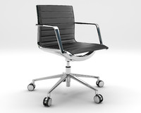 Aluminia Office Chair - Operative Slatted
