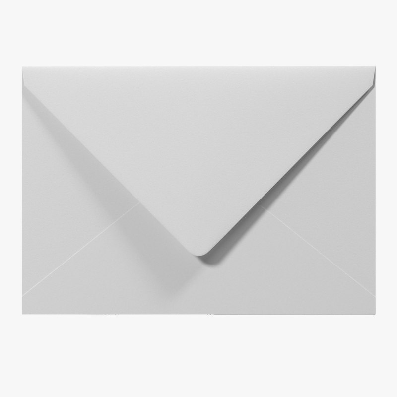 White Envelope 3d model 01.jpg