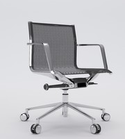 aluminia office chair operative max