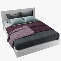 bed cover blanket 3d max