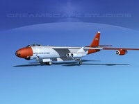 stratojet boeing b-47 b-47a 3d 3ds