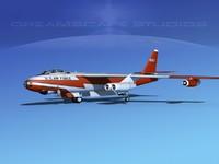 dwg stratojet boeing b-47 bomber