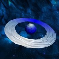 cartoon planet 3d max