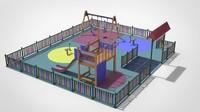 obj playground set