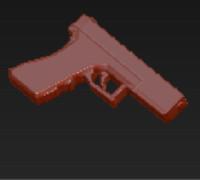 toy gun 3d model