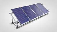 solar panel 3d c4d