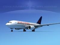 3dsmax boeing 767 767-100