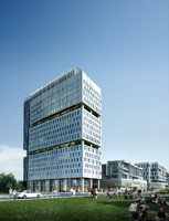 3d model skyscraper business center 062