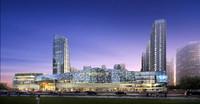 3d skyscraper business center
