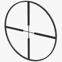 maya sniper target symbol