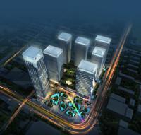 skyscraper business center 081 3d model