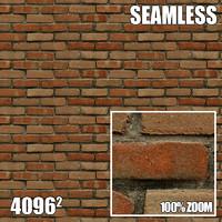4096 Seamless Texture Brick II