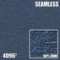 4096 Seamless Texture Denim