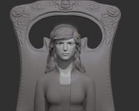 3ds woman human girl