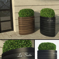 hotel bush iv 3d model