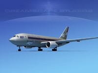 3ds max boeing 767 767-100