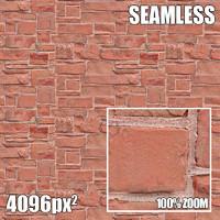 4096 Seamless Texture Brick IV