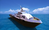 3ds max crew ship