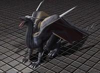 3d dragon rigged blender