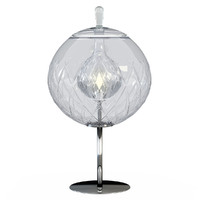 table lamp baccarat sfera 3d model