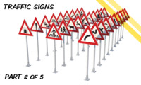 CZ traffic signs - part 2 of 5