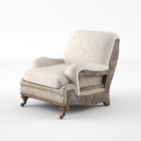maya deconstructed english roll armchair