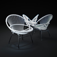 3d great-porch-chair model